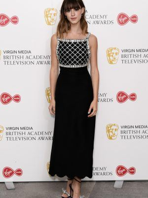 Daisy Edgar-Jones at Virgin Media TV BAFTA Awards, London