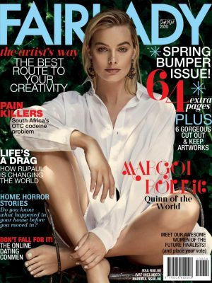 Margot Robbie in Fairlady Magazine, September / October 2020