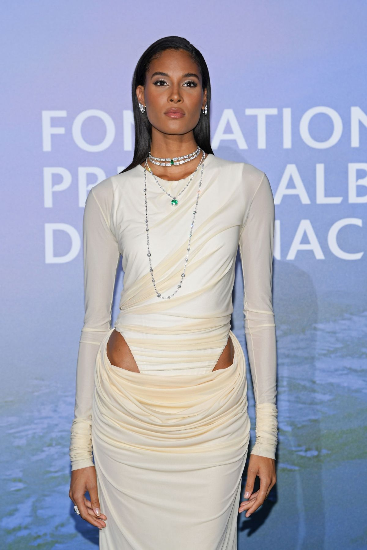 Cindy Bruna at Monte Carlo Gala for Planetary Health