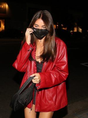 Madison Beer Leggy, Outside 40 Love in West Hollywood