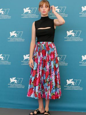 "Maya Hawke at ""Mainstream"" Photocall at 77th Venice Film Festival"