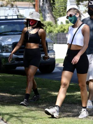 Vanessa Hudgens Booty, Out for a Hike at Griffith Park in Los Feliz