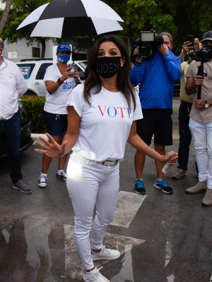 Eva Longoria And CNN Host Ana Navarro Rally For the Latino Vote in Miami
