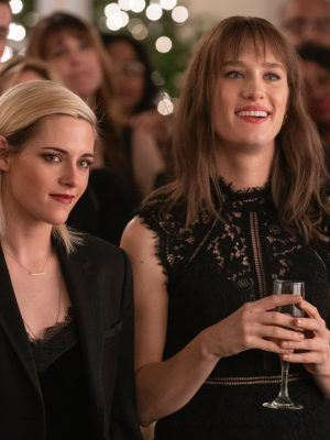 Kristen Stewart and Mackenzie Davis in Happiest Season Stills 2020
