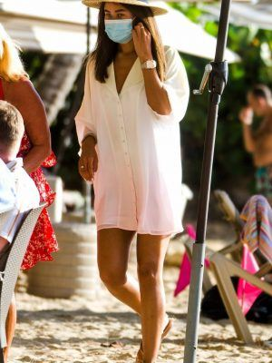 Montana Brown Leggy at the Posh Sea Shed Restaurant in St Peter Parish, Barbados