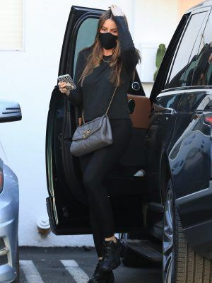 Sofia Vergara Booty, Outside of a Pilates Class in West Hollywood