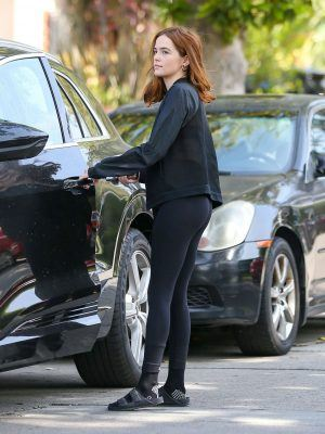 Zoey Deutch Booty, Out and About in Los Angeles