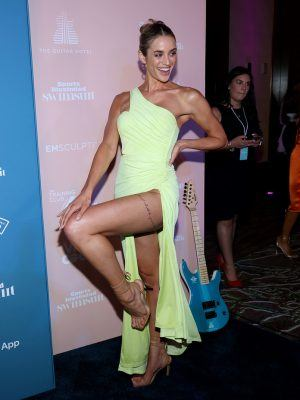 Allie Ayers at 2021 Sports Illustrated Swimsuit Launch Party in Hollywood