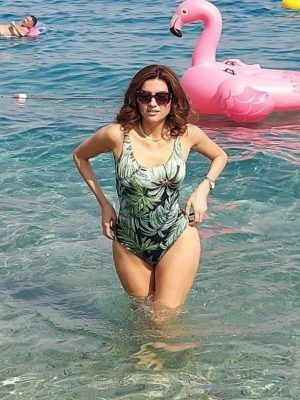 Blanca Blanco in a Swimsuit in Catanzaro, Italy