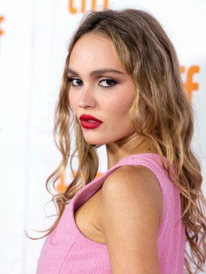 Lily-Rose Depp Attending the Premiere of Silent Night at TIFF in Toronto